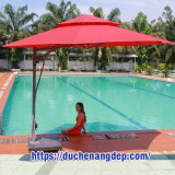Mua Dù Che Nắng Tại Tân Uyên Bình Dương, Dù Che Nắng cho Quán Cà Phê, Sân Vườn, Bể Bơi,....