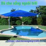 Dù Che Nắng Tại Gò Vấp TPHCM, Dù Che Nắng Cho Bể Bơi Và Sân Vườn Đẹp Nhất