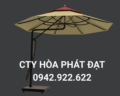 Dù che nắng mưa ngoài trời thương hiệu Hòa Phát Đạt